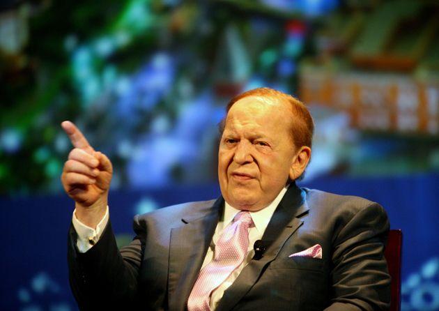 Sheldon Adelson boss of Las Vegas Sands