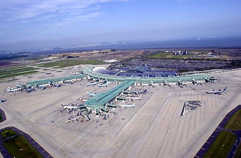 Incheon International Airport where the resort will be built