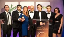 Yggdrasil winning the iGaming Software Supplier of the Year at the 9th IGA Awards Monday