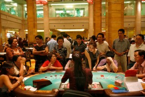 Nagaworld Casino, 5 star hotel, Phnom Penh, Cambodia